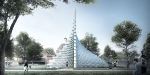 Serpentine Pavilion 2016 designed by Bjarke Ingels Group (BIG) Design render © Bjarke Ingels Group (BIG)